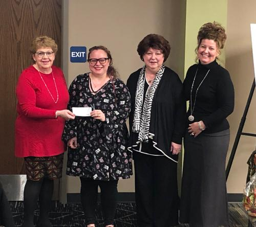 UNICO Ladies Auxiliary donation