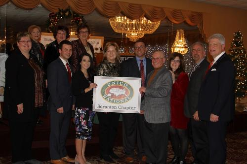 Scranton Chapter, UNICO National,  New Members December 2018